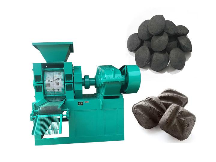 Commercial coal ball briquette machine for sale
