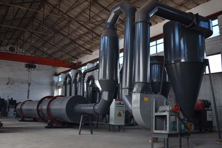 Cover-Rotary dryer