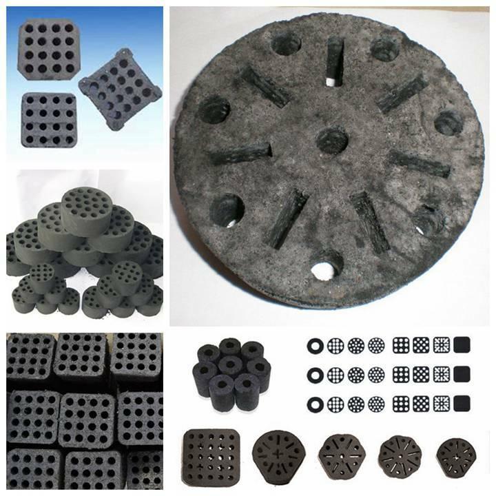 honeycomb coal briquettes with various shapes