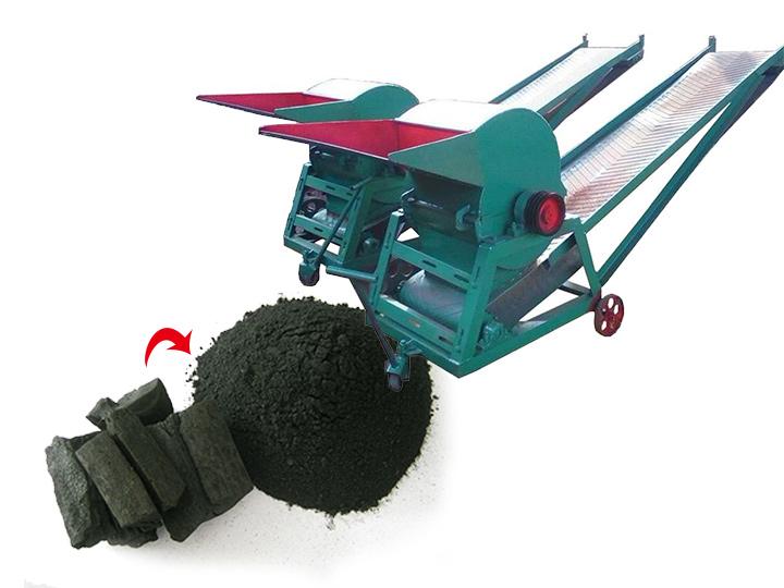 Charcoal crusher | coal crusher | briquettes grinder