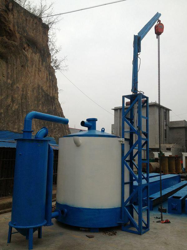 Lifting type carbonization furnace