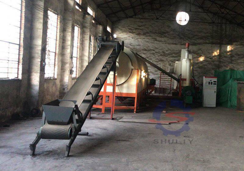 sawdust charcoal briquette production line
