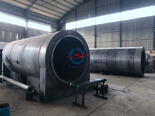 continuous carbonization furnace