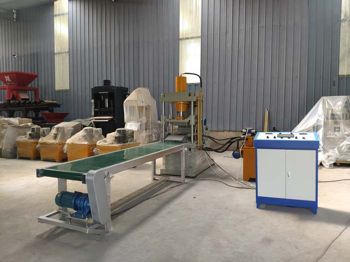 Shisha charcoal production line