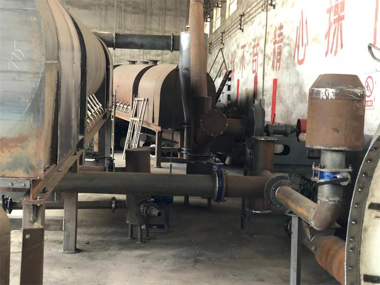 commercial carbonization furnace structure