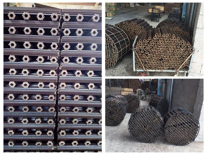 Biomass charcoal briquette