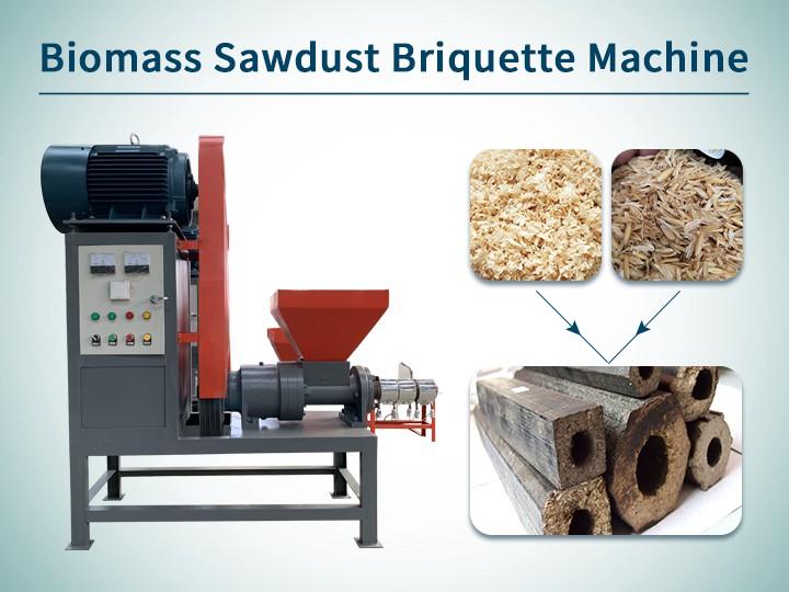 Cover---Biomass Sawdust Briquette Machine