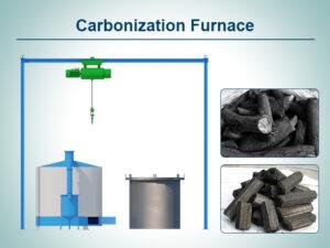 Cover-Carbonization Furnace