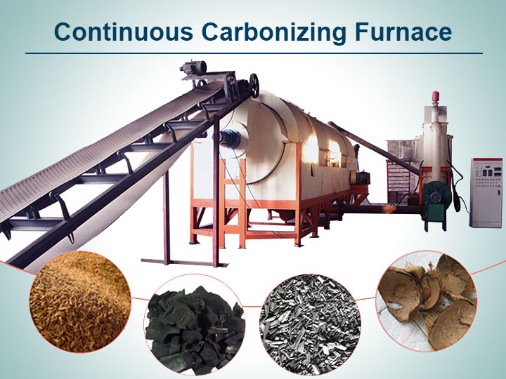 Cover-Continuous carbonizing furnace