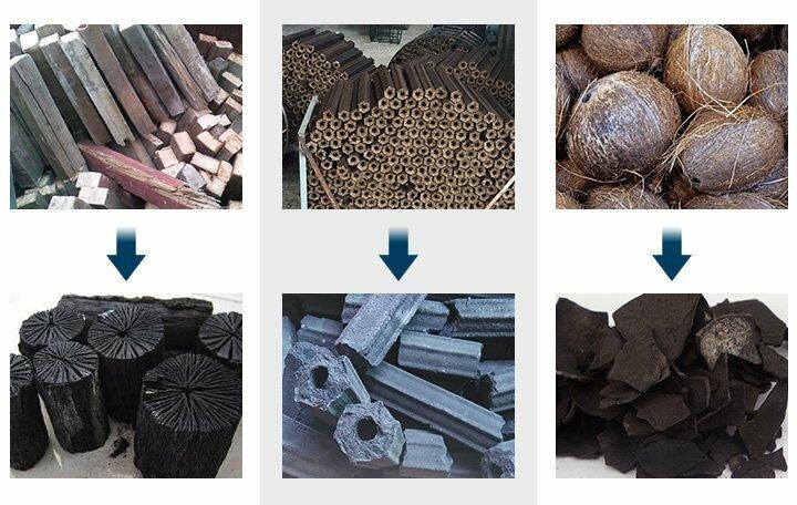 Carbonized material