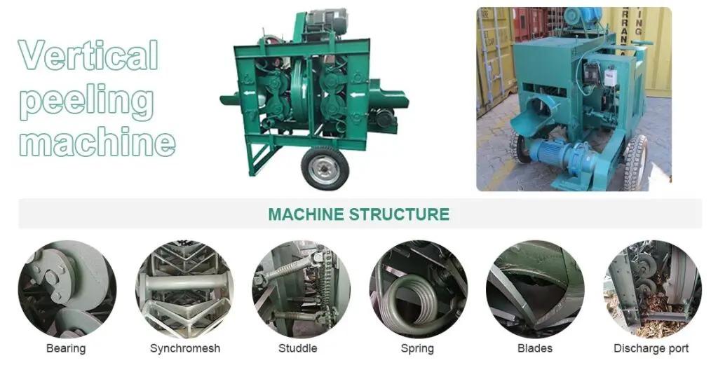 Vertical-peeling-machine