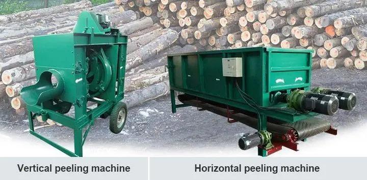 wood-peeling-machine