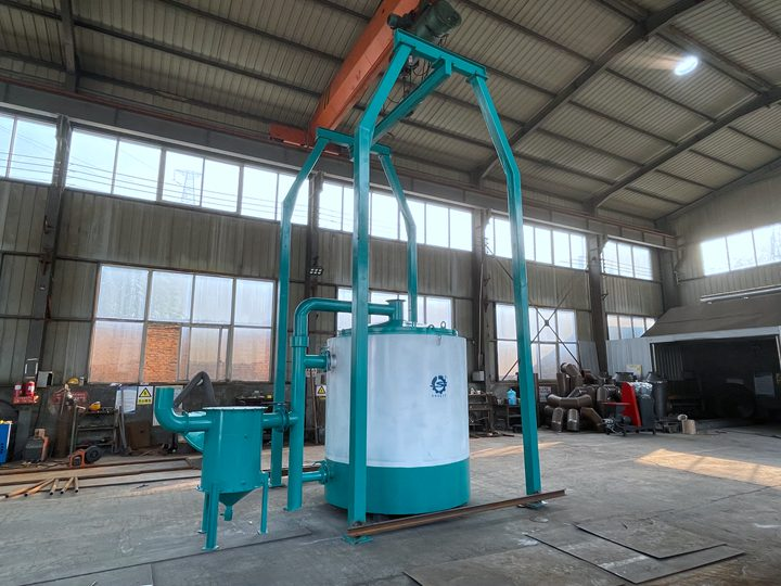 Philippines coconut palm crushing production line