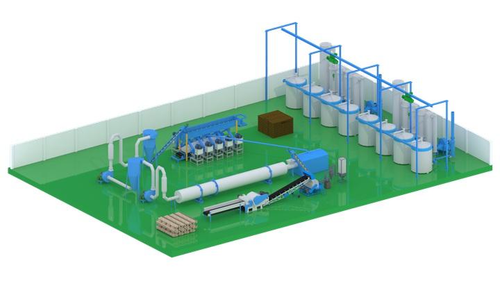 Vietnam Biomass Fuel Rod Production Line